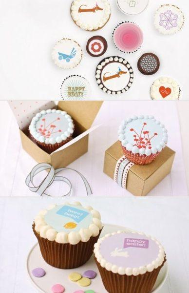 Decoración de tartas y cupcakes en un plis plas