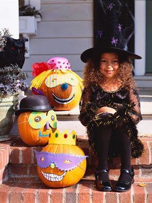 Calabazas creativas y divertidas para Halloween
