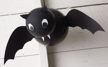 Fiesta de Halloween- murciélago de globos