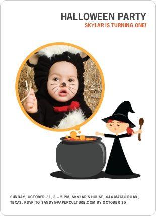 Invitaciones para fiestas de Halloween