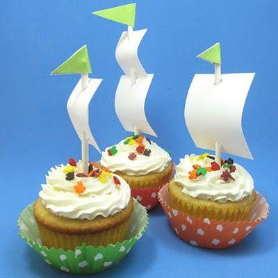 Cupcakes a la mar