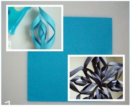 Estrella polar de papel, una manualidad fácil y vistosa