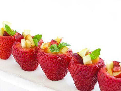Comer fruta con estilo