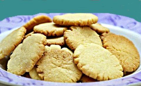 Receta base de galletas de mantequilla