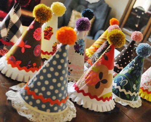 Divertidos sombreros de fiesta