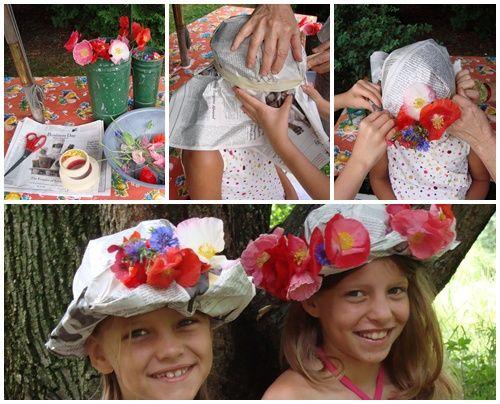 sombreros de fiesta en 5 minutos