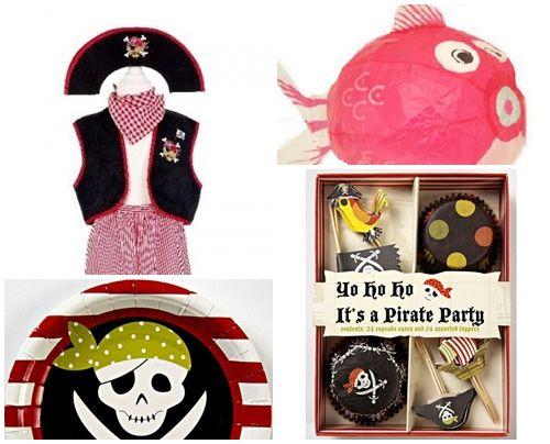 ideas fiesta de cumpleaños pirata