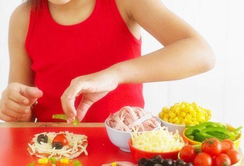 Receta de minipizza para hacer con niños