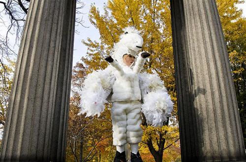 disfraz de caballo blanco pegaso