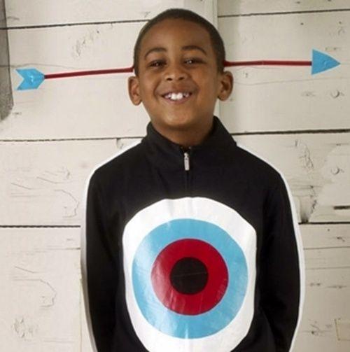 Disfraz de diana con flecha