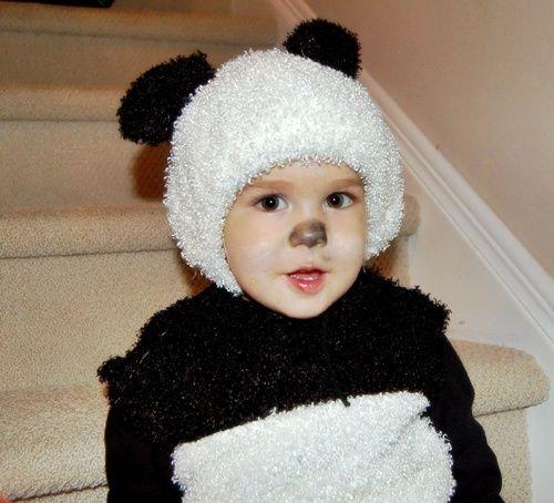 Oso panda: el disfraz más dulce…