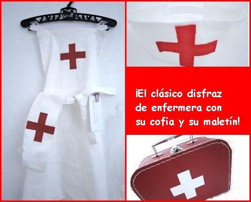 un clásico para las niñas: ¡disfraz de enfermera!