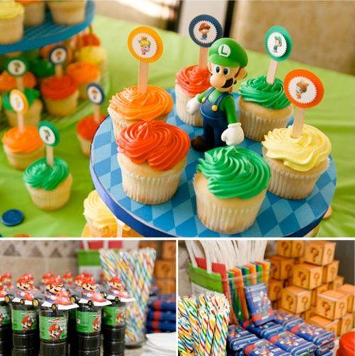 Fiesta infantil con Super Mario
