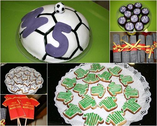 cookies que son camisetas de fútbol: ¡qué chulas!