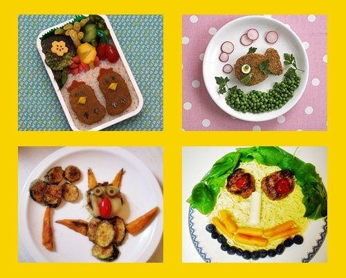 Platos creativos para niños exigentes