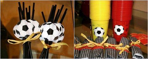 fútbol: detalles de la fiesta