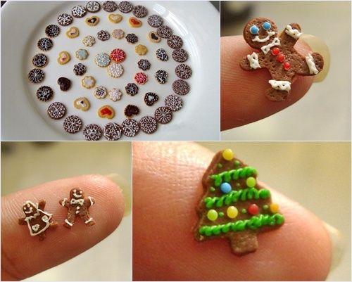minicookies para Navidad
