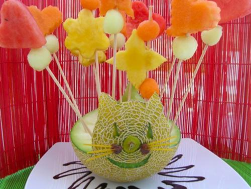 Divertida receta para que los niños coman fruta