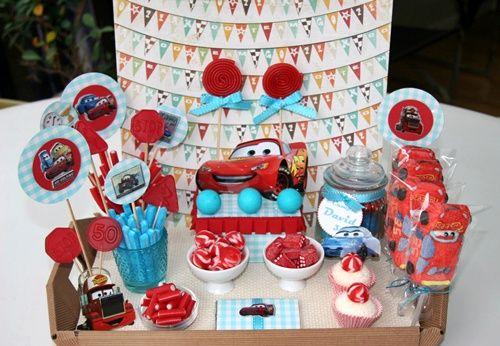 Fiesta de cumpleaños Cars… ¡Qué bonita!