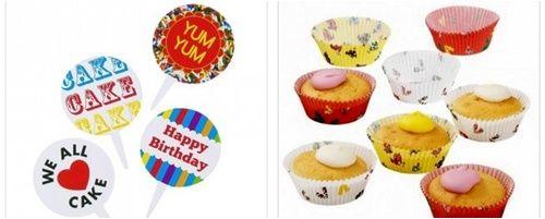 moldes y accesorios para cupcakes