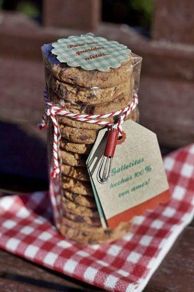 Regalo irresistible: galletas 100% hechas con amor