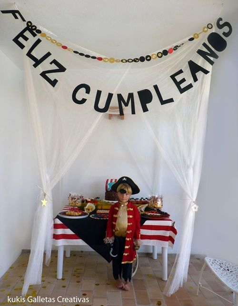 fiesta pirata cumple
