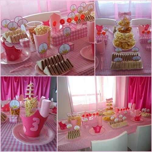 Una fiesta Princesa muy muy rosa