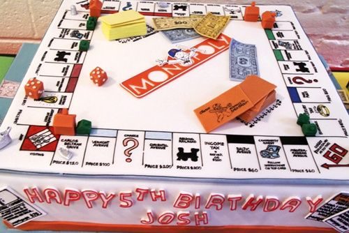 ¡Mira qué fiesta Monopoly tan bien ideada!