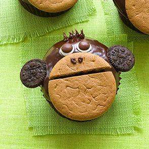 ¿Fiesta en la Jungla? Imprescindible este cupcake mono