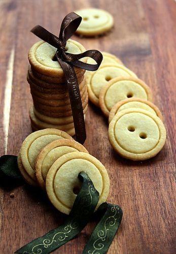 Galletas-botón, un regalo rico y original