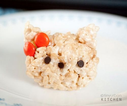 Figuritas Hello Kitty hechas de arroz… ¡Qué ricas!