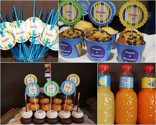 Atractiva fiesta de cumpleaños llena de detalles