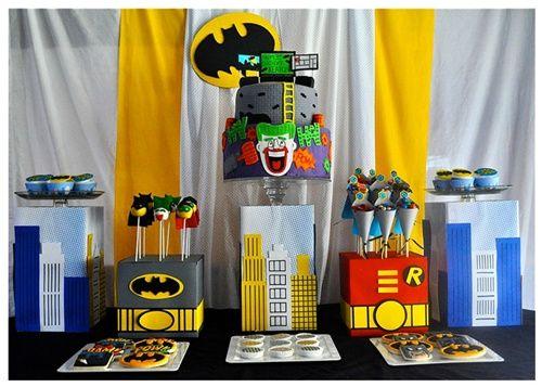 Fiesta infantil Batman: ¡se sentirán como en Gotham City!