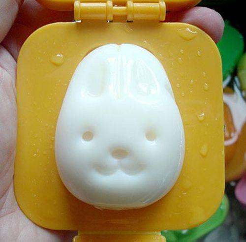 Divertidos moldes para huevos cocidos