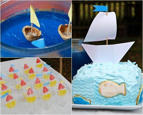 ¡Marineros a bordo! Detalles para decorar una fiesta náutica
