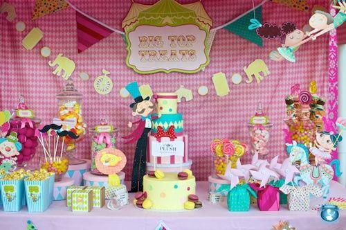 Fiesta infantil del circo: ¡sin duda, espectacular!