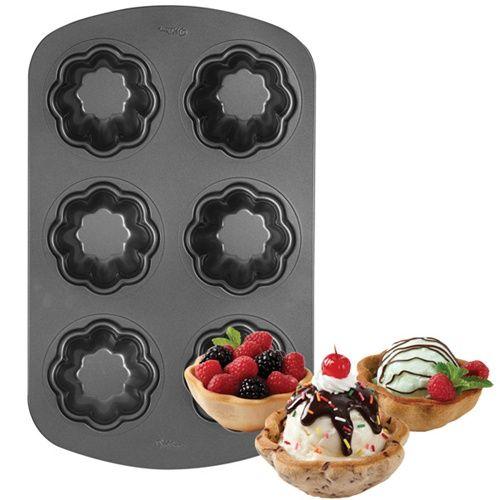 Copas creativas de helado y cookies con estos moldes