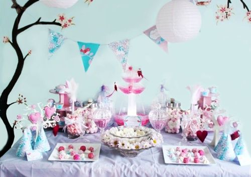 Fiesta de pajarillos para festejar un cumple (o el amor…)