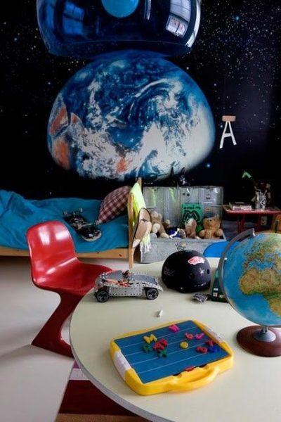 Decorar una habitación infantil con papel pintado