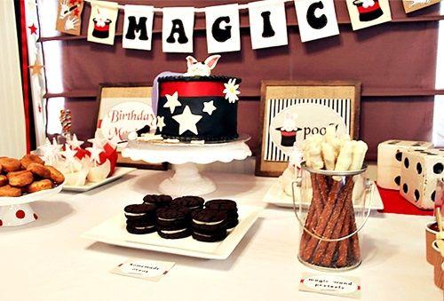 ¡Fiesta de cumpleaños llena de magia!