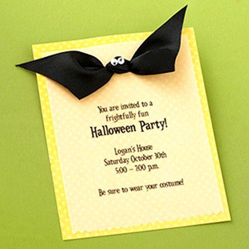 Original invitación de Halloween para fiesta … ¡Terrorífica!