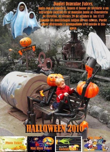 Original invitación a una fiesta de Halloween… ¡Terrorífica!