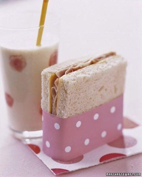 Deliciosa idea para sandwich