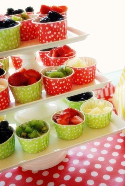 Deliciosos postres de frutas cargados de vitaminas