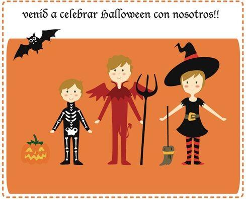Invitaciones personalizadas para fiestas de Halloween