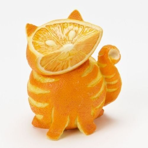 Postre de frutas para niños: naranjas creativas, ¡y no se resistirán!