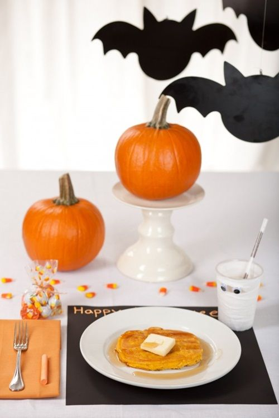Un desayuno para Halloween muy inspirador