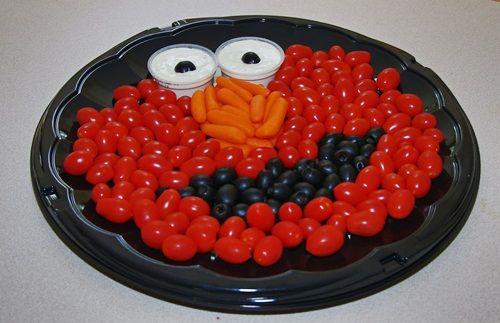 ¡Bandejas llenas de vitaminas! Platos creativos para niños