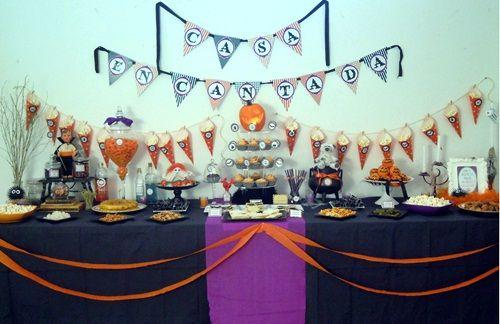 Terrorífica fiesta Halloween para pequeños 'monstruitos'