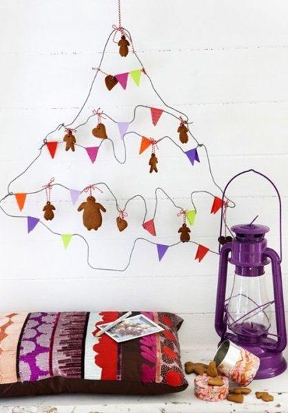 Árbol de Navidad de alambre ¡superoriginal!